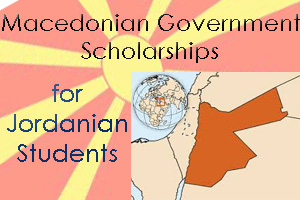 Macedonian Government Scholarships for Jordanian Students