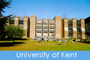 University of Kent campus