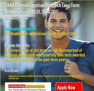 DAAD german research scholarship