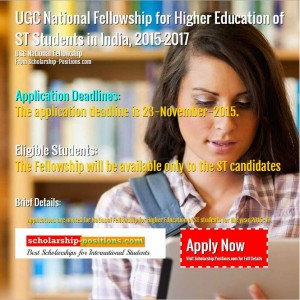 UGC National Fellowship