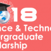 Science and Technology Undergraduate Scholarships
