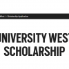 UniversityWestScholarshipProgramme